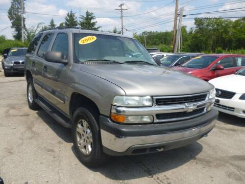 2002 Chevrolet Tahoe for sale at I57 Group Auto Sales in Country Club Hills IL