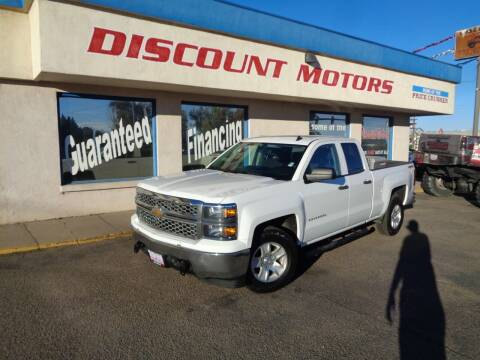 2014 Chevrolet Silverado 1500 for sale at Discount Motors in Pueblo CO