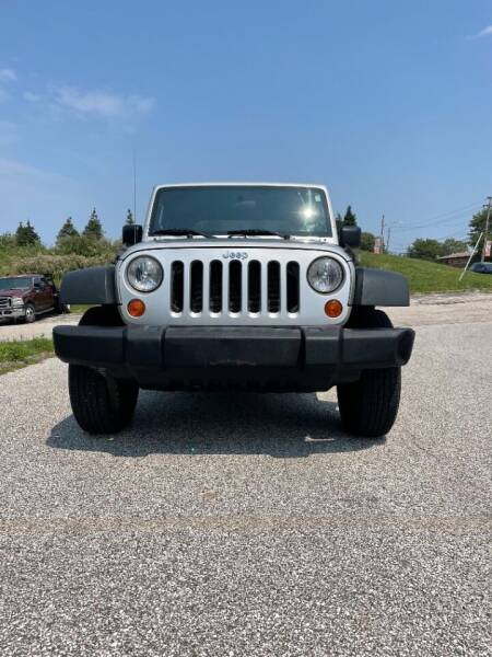 2008 Jeep Wrangler for sale at VENTURE MOTORS in Wickliffe OH