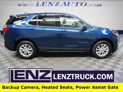 2020 Chevrolet Equinox for sale at LENZ TRUCK CENTER in Fond Du Lac WI