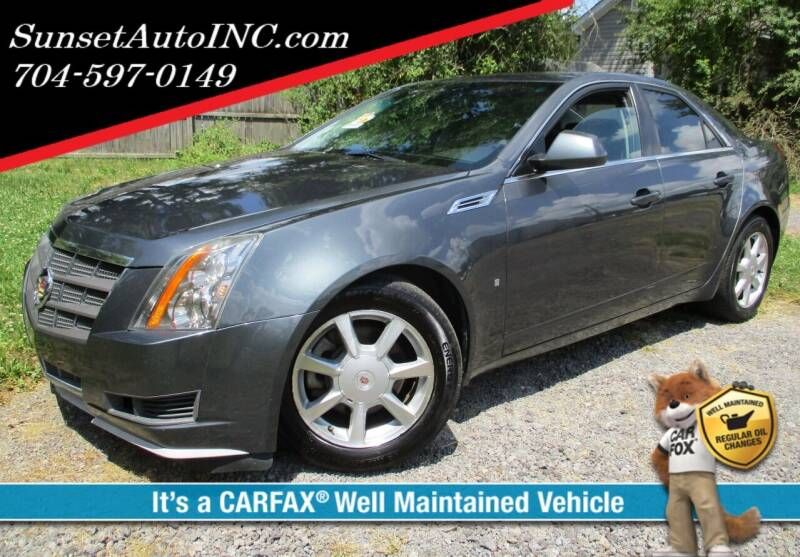 2008 Cadillac CTS for sale at Sunset Auto in Charlotte NC