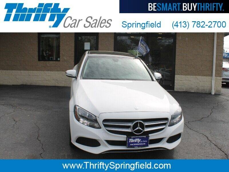 2016 Mercedes-Benz C-Class for sale at Thrifty Car Sales Springfield in Springfield MA
