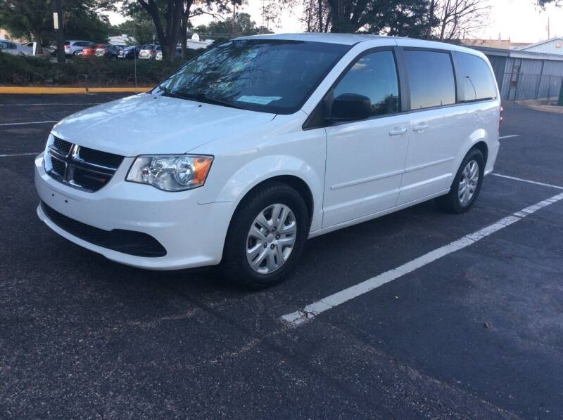 2016 Dodge Grand Caravan for sale at AROUND THE WORLD AUTO SALES in Denver CO