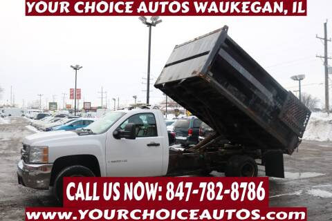 2008 Chevrolet Silverado 3500HD CC for sale at Your Choice Autos - Waukegan in Waukegan IL