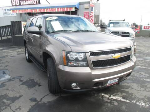 2014 Chevrolet Tahoe for sale at Quick Auto Sales in Modesto CA