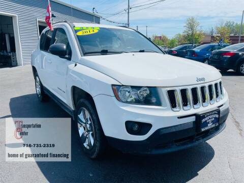 2014 Jeep Compass for sale at Transportation Center Of Western New York in Niagara Falls NY