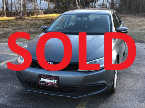 2012 Volkswagen Jetta for sale at Anamaks Motors LLC in Hudson NH