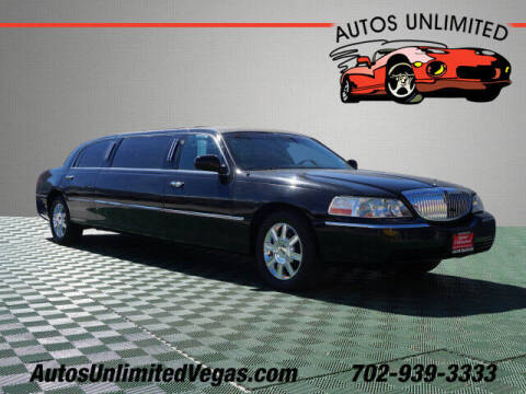 2007 Lincoln Town Car for sale at Autos Unlimited in Las Vegas NV