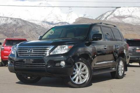 2009 Lexus LX 570 for sale at REVOLUTIONARY AUTO in Lindon UT