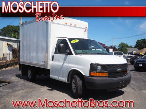 2014 Chevrolet Express Cutaway for sale at Moschetto Bros. Inc in Methuen MA