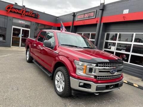 2018 Ford F-150 for sale at Goodfella's  Motor Company in Tacoma WA