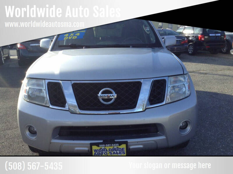 2008 Nissan Pathfinder for sale at Worldwide Auto Sales in Fall River MA