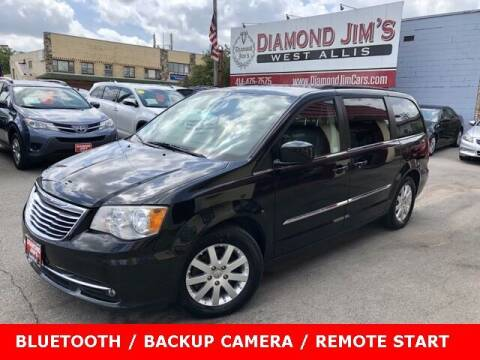 2014 Chrysler Town and Country for sale at Diamond Jim's West Allis in West Allis WI