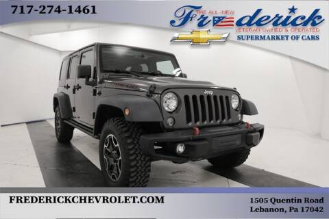 2016 Jeep Wrangler Unlimited for sale at Lancaster Pre-Owned in Lancaster PA