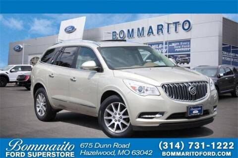 2015 Buick Enclave for sale at NICK FARACE AT BOMMARITO FORD in Hazelwood MO