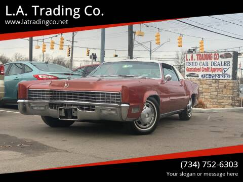 1967 1967 cadillac for sale at L.A. Trading Co. Woodhaven in Woodhaven MI