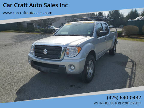 2012 Suzuki Equator for sale at Car Craft Auto Sales Inc in Lynnwood WA