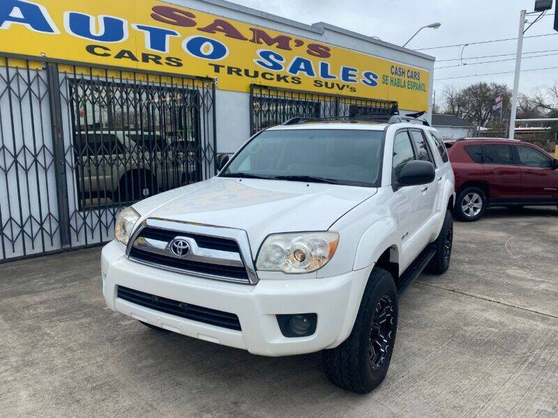 2009 Toyota 4Runner for sale at Sam's Auto Sales in Houston TX