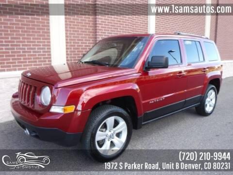 2013 Jeep Patriot for sale at SAM'S AUTOMOTIVE in Denver CO