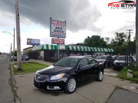 2012 Buick Regal for sale at Five Star Auto Center in Detroit MI