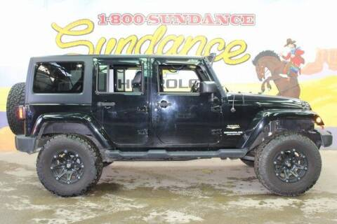 2015 Jeep Wrangler Unlimited for sale at Sundance Chevrolet in Grand Ledge MI