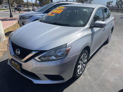 2017 Nissan Sentra for sale at Soledad Auto Sales in Soledad CA