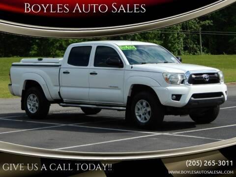 2013 Toyota Tacoma for sale at Boyles Auto Sales in Jasper AL