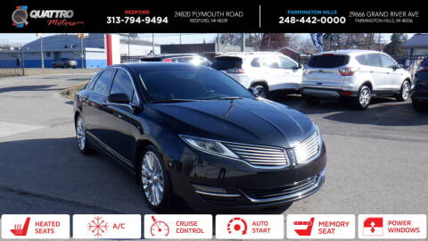2014 Lincoln MKZ for sale at Quattro Motors 2 in Farmington Hills MI