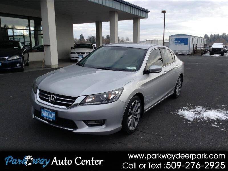 2013 Honda Accord for sale at PARKWAY AUTO CENTER AND RV in Deer Park WA