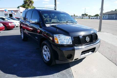 2006 Nissan Armada for sale at J Linn Motors in Clearwater FL