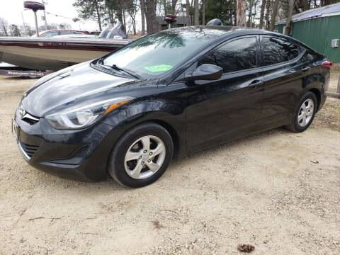 2014 Hyundai Elantra for sale at Northwoods Auto & Truck Sales in Machesney Park IL