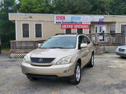 2005 Lexus RX 330 for sale at Seven and Below Auto Sales, LLC in Rockville MD