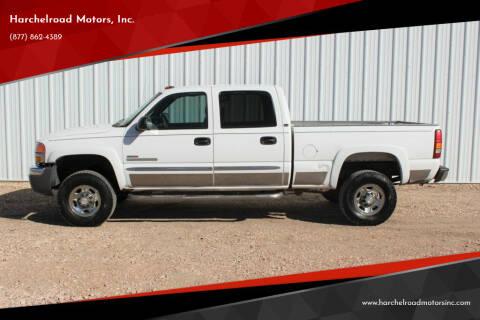 2003 GMC Sierra 2500HD for sale at Harchelroad Motors, Inc. in Wauneta NE