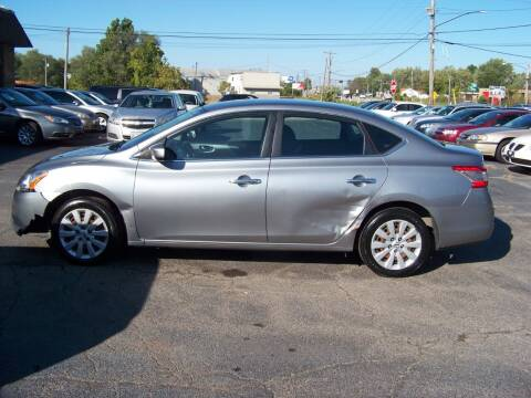 2014 Nissan Sentra for sale at C and L Auto Sales Inc. in Decatur IL