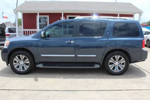 2015 Nissan Armada for sale at AMT AUTO SALES LLC in Houston TX