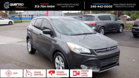 2015 Ford Escape for sale at Quattro Motors 2 - 1 in Redford MI