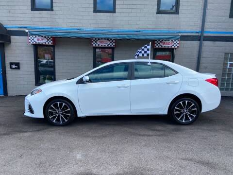 2018 Toyota Corolla for sale at Sisson Pre-Owned in Uniontown PA