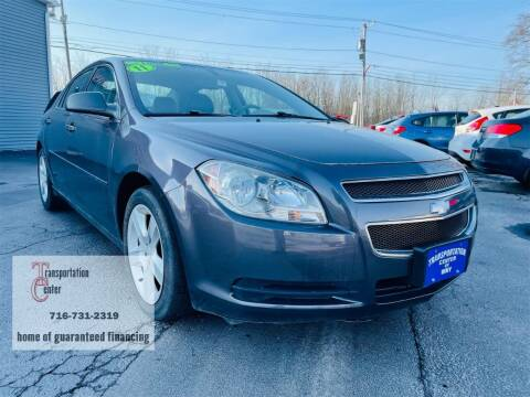 2011 Chevrolet Malibu for sale at Transportation Center Of Western New York in Niagara Falls NY