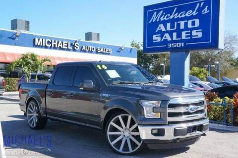 2016 Ford F-150 for sale at Michael's Auto Sales Corp in Hollywood FL