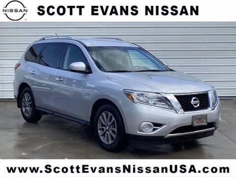 2015 Nissan Pathfinder for sale at Scott Evans Nissan in Carrollton GA