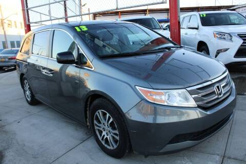 2013 Honda Odyssey for sale at LIBERTY AUTOLAND INC in Jamaica NY