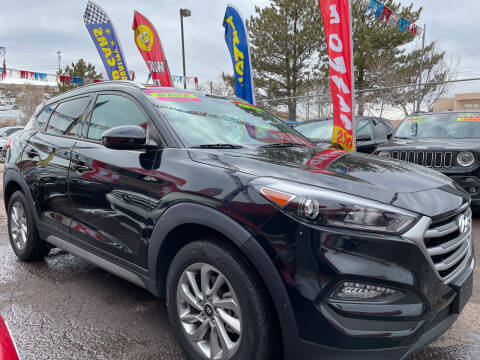 2017 Hyundai Tucson for sale at Duke City Auto LLC in Gallup NM