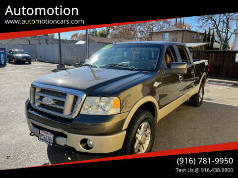 2008 Ford F-150 for sale at Automotion in Roseville CA