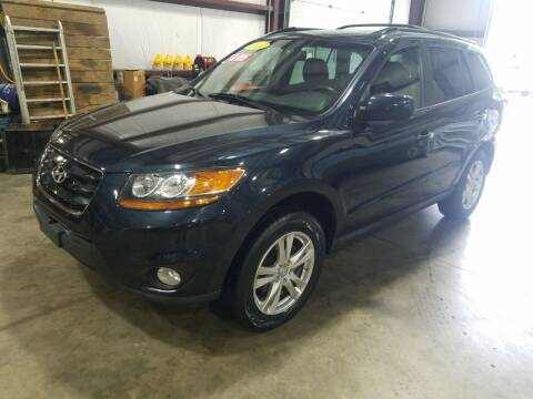 2011 Hyundai Santa Fe for sale at Hometown Automotive Service & Sales in Holliston MA