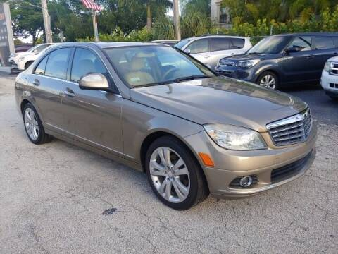 2008 Mercedes-Benz C-Class for sale at Brascar Auto Sales in Pompano Beach FL