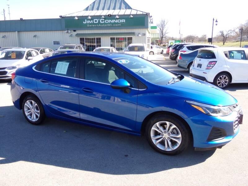2019 Chevrolet Cruze for sale at Jim O'Connor Select Auto in Oconomowoc WI