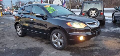 2007 Acura RDX for sale at Russo's Auto Exchange LLC in Enfield CT