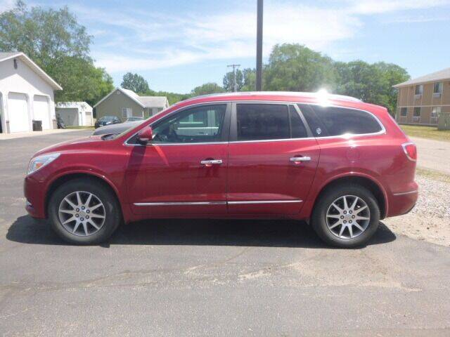 2014 Buick Enclave for sale at JIM WOESTE AUTO SALES & SVC in Long Prairie MN