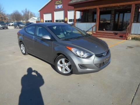 2013 Hyundai Elantra for sale at Boyett Sales & Service in Holton KS