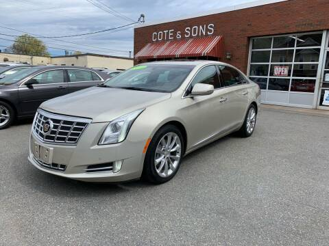 2013 Cadillac XTS for sale at Cote & Sons Automotive Ctr in Lawrence MA
